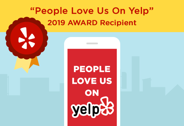 Harmonic Heating & Air Conditioning are proud winner of the People Love Us On Yelp Award!