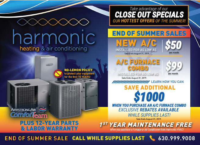 Take advantage of our Summer Season close out deals!