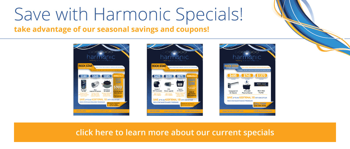 See what you can save with our seasonal specials!